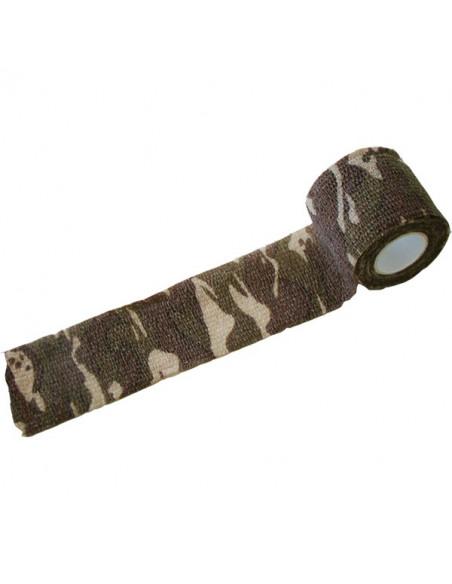 Camoflage-tape Woodland Field 5cm 4,5m brun