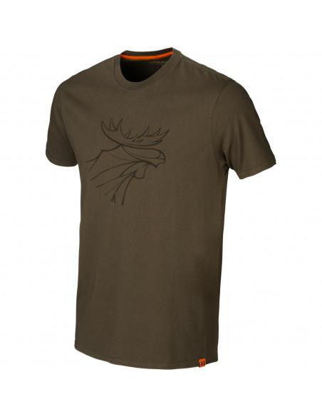 T-shirt Härkila Graphic Willow Green