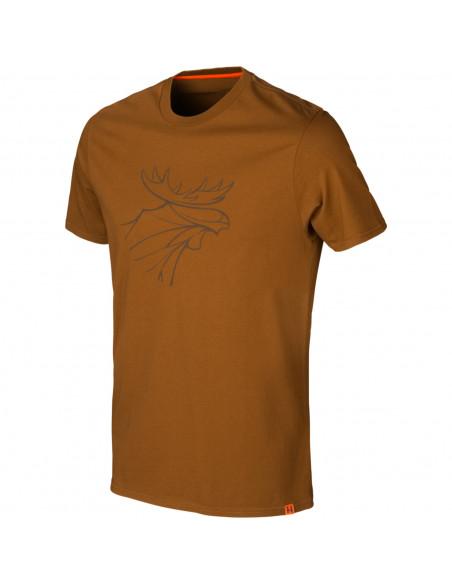 T-shirt Härkila Graphic Rustique clay