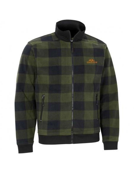 Swedteam Lynx Sweater Full-Zip Green