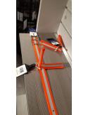 Barq reflexflärp 12 cm orange