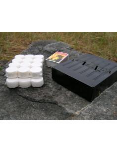 Brenselstativ m/ tabletter
