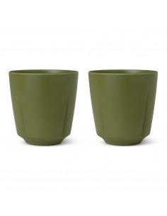 Rosendahl Reduce krus 32cl olivengrønn 2 stk